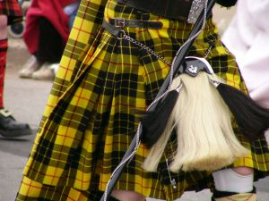 Special Kilt for the Parade